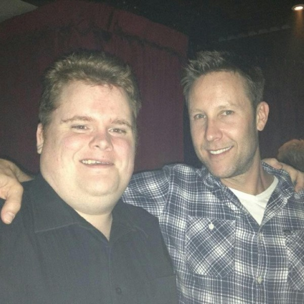 Michael Rosenbaum and I